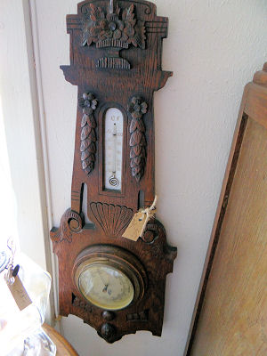 Oude barometer